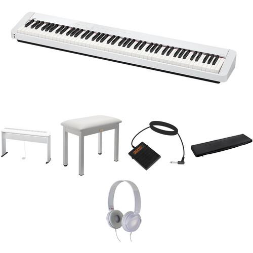 Casio PX-S1000 Digital Piano Standard Home Essentials Kit (White)