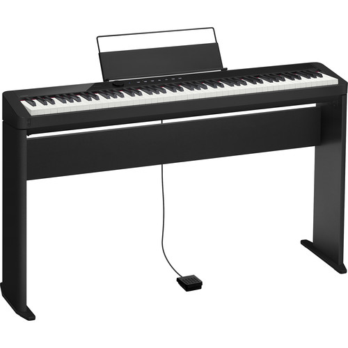 Casio PX-S1000CS Privia 88-Key Digital Piano and CS68 Stand Kit (Black)