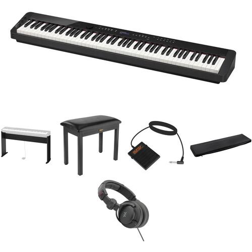 Casio PX-S3000 Digital Piano Standard Home Essentials Kit (Black)