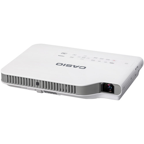 Casio XJ-A257 Slim Series 16:10 Multi-Media Projector with Wireless LAN Adapter