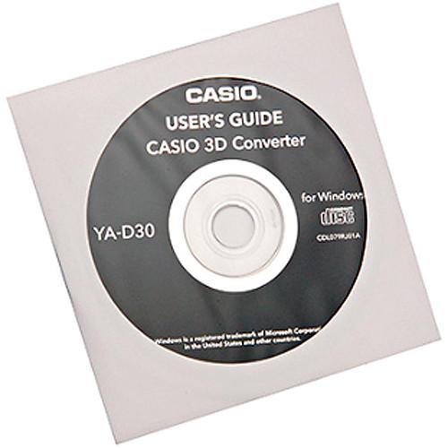 Casio 2D to 3D Conversion Software for DLP Link Projectors