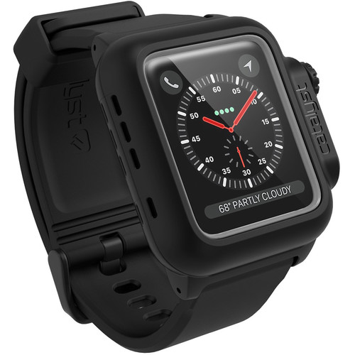 Catalyst Waterproof Case for 42mm Apple Watch Series 3 (Stealth Black)