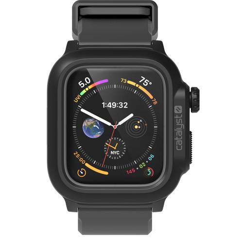 Catalyst Waterproof Case for Apple Watch Series 4 & 5 (Black/Gray, 44mm)