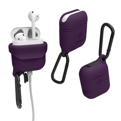 Catalyst Case for Apple AirPods (Deep Plum)