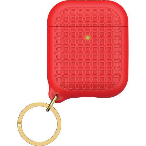 Catalyst Keyring Case for Apple AirPods (Flame Red)