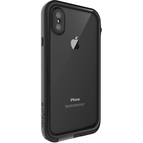 Catalyst Waterproof Case for iPhone X (Stealth Black)