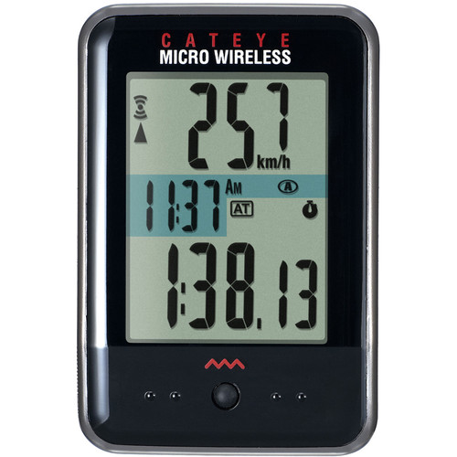 CatEye MC100W Micro Wireless Bike Computer (Black)