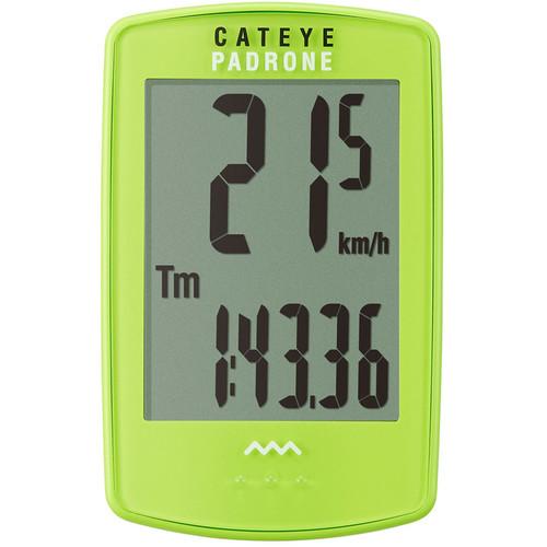 CatEye PA100W Padrone Bike Computer (Green)