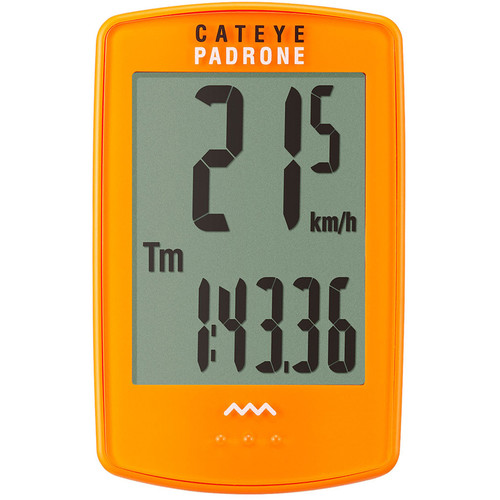 CatEye PA100W Padrone Bike Computer (Orange)