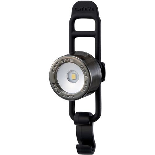 CatEye Nima 2 Front Bike Light (Chrome Black)