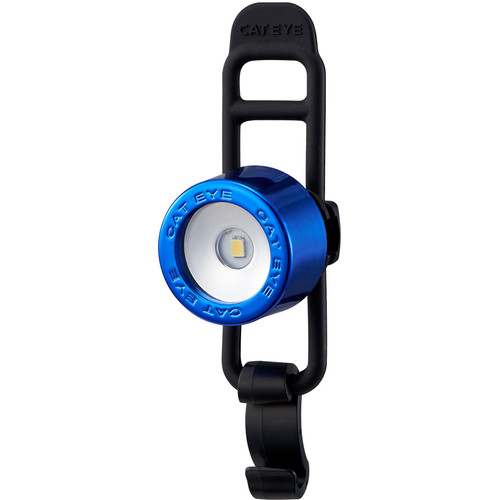 CatEye Nima 2 Front Bike Light (Chrome Blue)