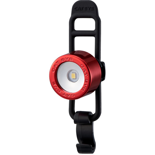 CatEye Nima 2 Front Bike Light (Chrome Red)
