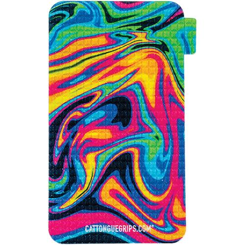 CatTongue Grips Smartphone Grip (Neon Dream, Small)