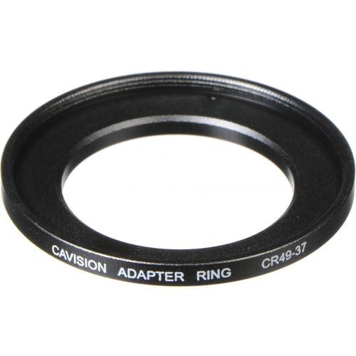Cavision 37 to 49mm Threaded Step-Up Ring