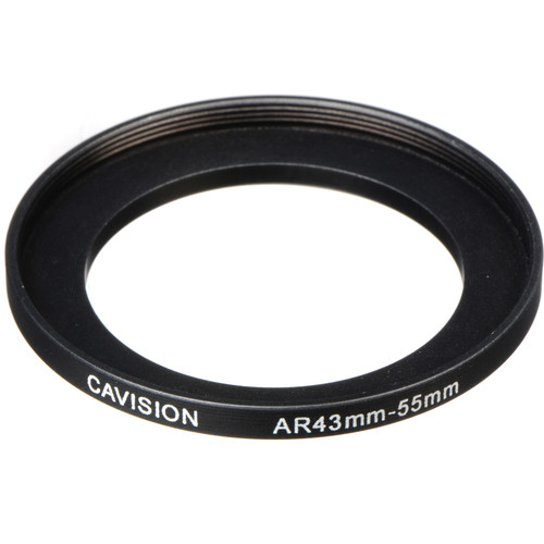 Cavision 43 to 55mm Threaded Step-Up Ring