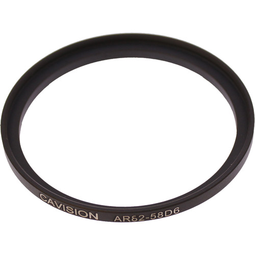 Cavision AR-D6 Series 58-62mm Step-Up Ring