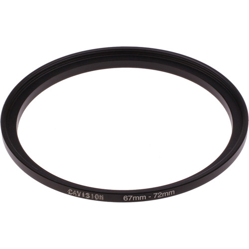 Cavision 67 to 72mm Threaded Step-Up Ring