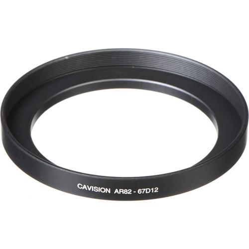 Cavision 67 to 82mm Threaded Step-Up Ring