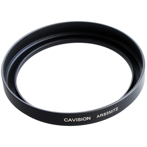 Cavision 85mm to 72mm Threaded Metal Deep Offset Step-Up Adapter Ring