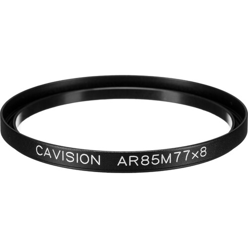 Cavision 85mm to 77mm Threaded Metal Deep Offset Step-Up Adapter Ring