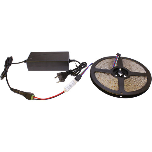 Cavision Color LED Strip and Mini RGB Controller Package