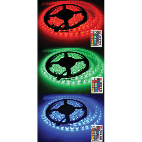 Cavision Waterproof RGB LED Strip (16.4')