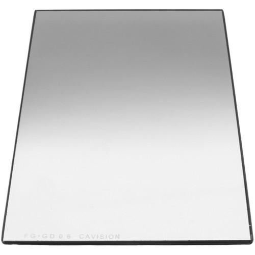"Cavision 4 x 6"" Graduated ND 0.6 Glass Filter (2mm Thick)"