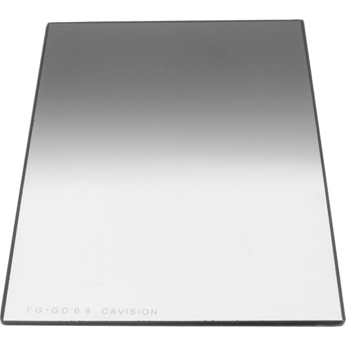 """Cavision 4 x 6"""" Graduated ND 0.9 Glass Filter (2mm Thick)"""