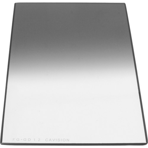 """Cavision 4 x 6"""" Graduated ND 1.2 Glass Filter (2mm Thick)"""
