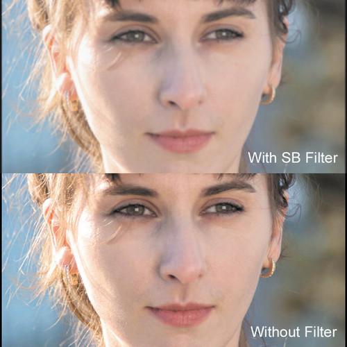 "Cavision 3 x 4"" Soft Mist Black 1/2 Filter"