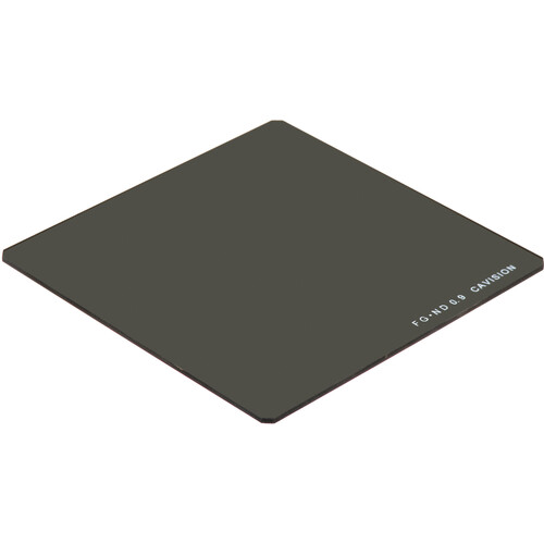 """Cavision 4 x 4"""" Enhanced Range ND 0.9 Filter (3-Stop, 2mm Thick)"""