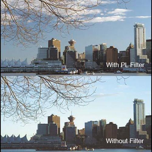 "Cavision 4 x 5.65"" Glass Polarizing Filter"