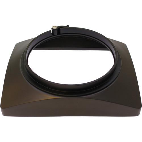 Cavision Rectangular Rubber Sunshade,Metal BackMount/120mm Lens/Arp12 Adapter Ring(127mm Filter Thread)