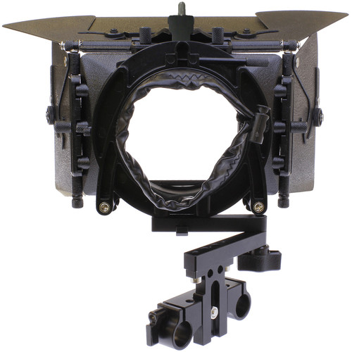 Cavision 3x3 Matte Box Kit with 15mm LWS Swing Bracket, Metal Trays, Flaps & Donut