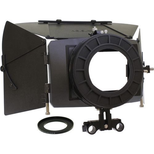 Cavision 4x5.65 Matte Box Package for Canon XF400/405, XA11/15 & XC10/15 without Rods Support