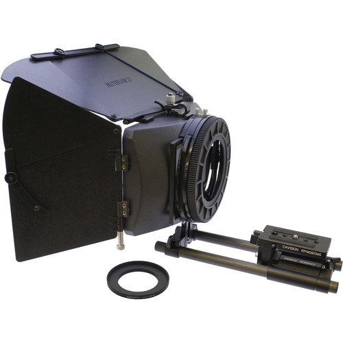 Cavision 4x5.65 Matte Box Package for Canon XF400/405, XA11/15 & XC10/15 with Rods Support