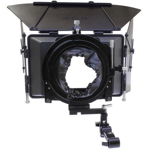 Cavision 4x5.65 Matte Box Package with 15mm Front Bracket for DSLR