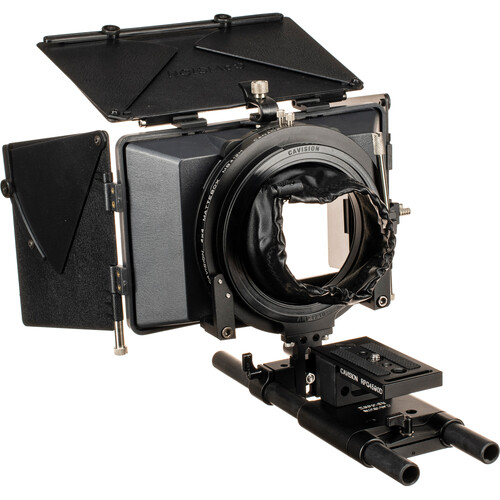 Cavision 4 x 5.65 Matte Box Package for DSLR, Panasonic AF100, & Blackmagic Camera