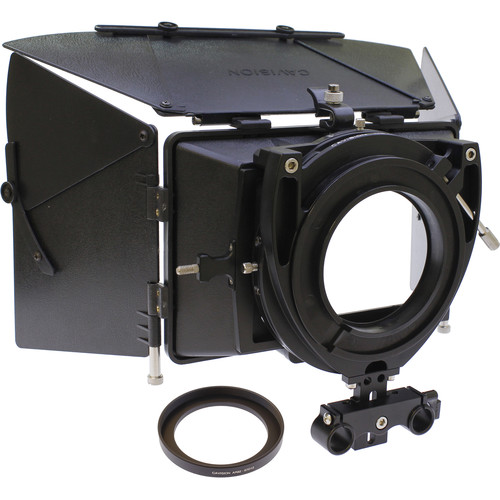 Cavision 4x5.65 Matte Box Package for Panasonic X1, CX350, UX90 & UX180 without Rods Support