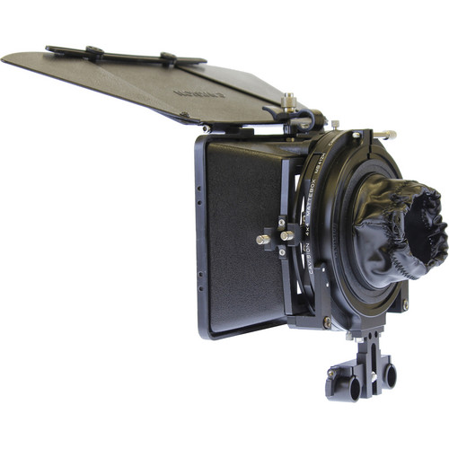 Cavision MB4512FP 4 x 5.65 Matte Box Package for 15mm Rods