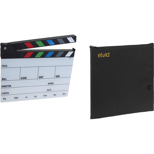 Cavision Next-Generation Color Clapper Slate and Soft Case Kit