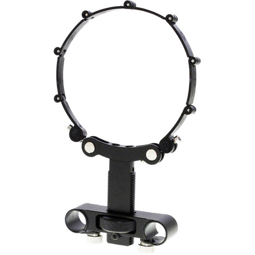 Cavision Adjustable Height Lens Support with Locking Lens Belt for 15mm LWS Rods
