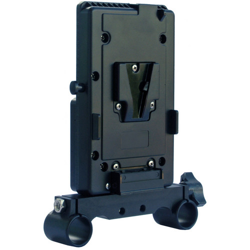 Cavision Vertical V-Lock Battery Mount for with 19mm Rods Bracket