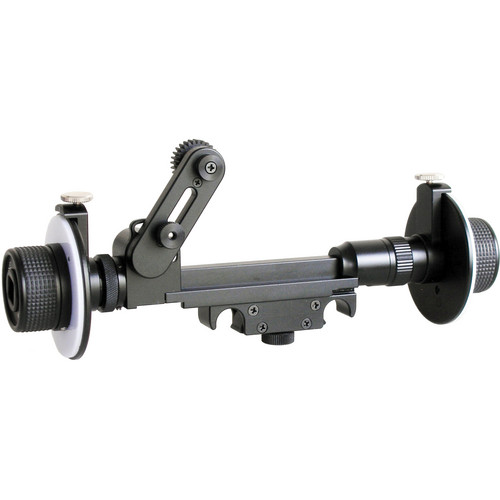 Cavision Mini Dual Wheel Follow Focus for 15mm Rods (with Canon Gear)