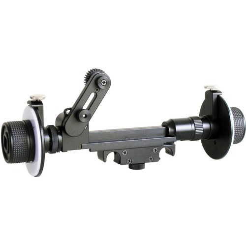 Cavision Mini Dual Wheel Follow Focus for 15mm Rods (with Fujinon Gear)