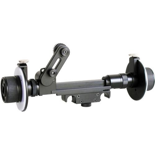 Cavision Mini Dual Wheel Follow Focus for 15mm Rods (with Film/Cine Gear)