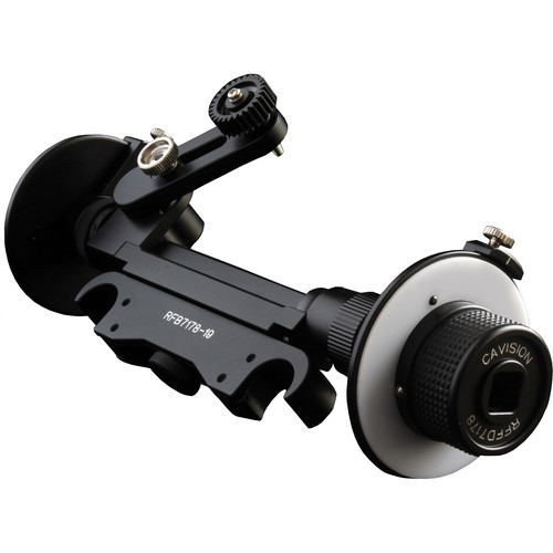 Cavision Mini Dual Wheel Follow Focus for 19mm Rods (with Canon Gear)