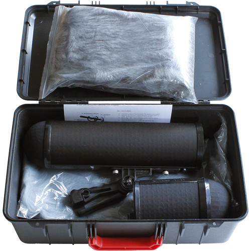 """Cavision Microphone Suspension System Kit with 21.6"""" Windshield, 21.6"""" and 15.7"""" Windcovers & ABS Case"""