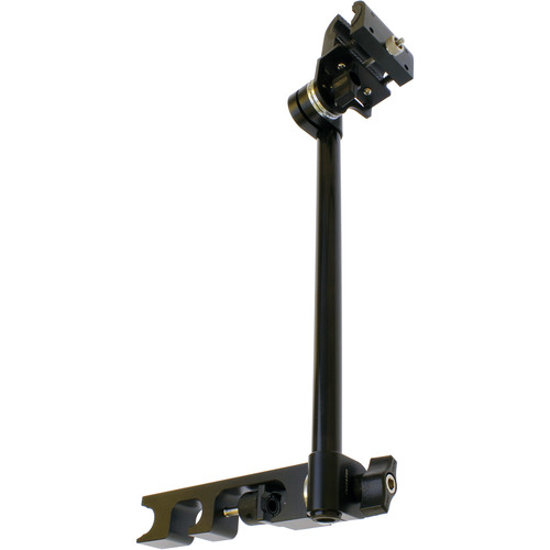 Cavision Universal Microphone Holder with Universal 19/15mm Rods Bracket and Vertical Rod