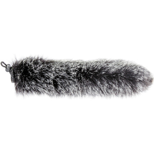 "Cavision SWJ2 10"" Slide-On Windcover for 19mm Diameter Microphone (Dark Gray)"